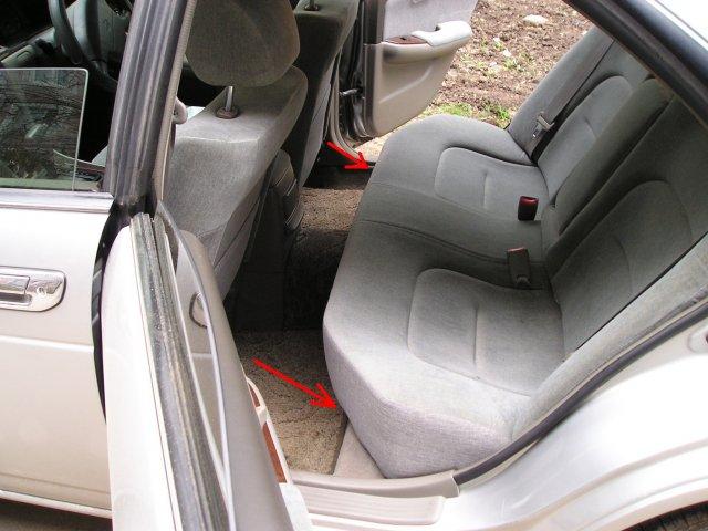 Как снять заднее сиденье на ниссан альмера